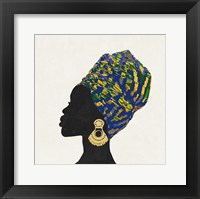 Framed Kente 2