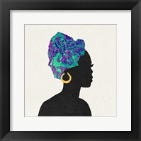 Framed Kente 3