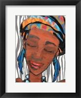 Framed Ebony Princess 1