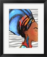 Ebony Princess 2 Framed Print
