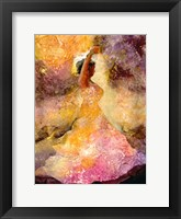Framed Flourished Dancer 1