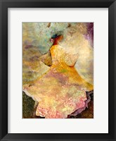 Framed Flourished Dancer 2