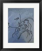 Framed Kiss 1