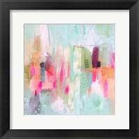 Framed Vibrant Spring 1