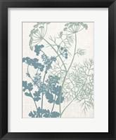 Framed Linen Herbs 1