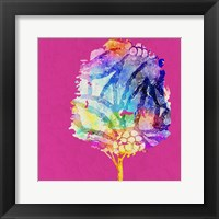 Framed Painted Tree 2