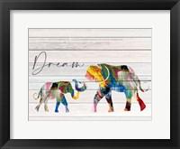 Framed Dream Elephant