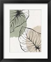 Framed Palm Organics 1