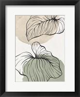 Palm Organics 2 Framed Print