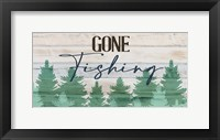 Framed Gone Fishing