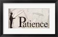 Framed Patience
