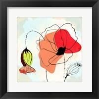 Framed Poppy Square 2