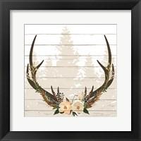 Framed Woodland Floral 2