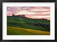 Framed Tuscany Palette