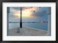 Framed Gran Canale Sunrise #1