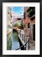 Framed Venetian Canale #8