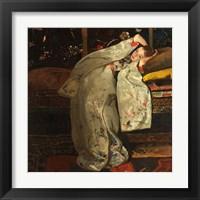 Framed Girl in a White Kimono, 1894