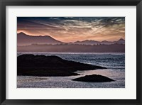 Framed Sunset Glow at Wickaninnish Beach