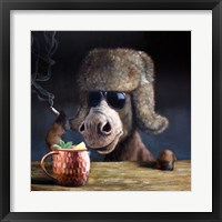 Framed Moscow Mule