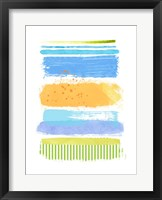 Framed Beach Stripes No. 1