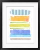 Framed Beach Stripes No. 2