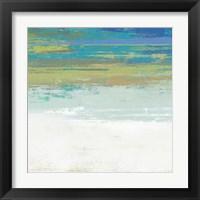Framed Beach Wash No. 2