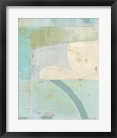 Coastal Blues No. 1 Framed Print