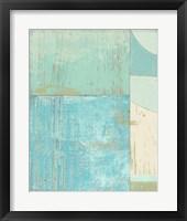 Framed Coastal Blues No. 2