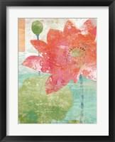 Lotus No. 1 Framed Print