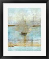 Framed Sailing In Dusk