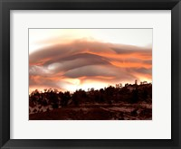 Framed Folded Sunset