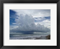 Framed Overwhelming Storm