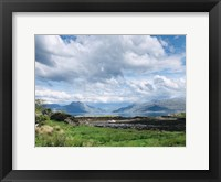 Framed Scotland Hills