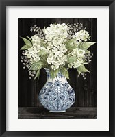 Framed Hydrangea Elegance