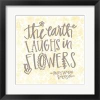 Framed Earth Laughs
