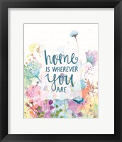 Framed Home is Wherever You Are