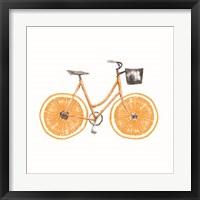 Framed Orange Bike
