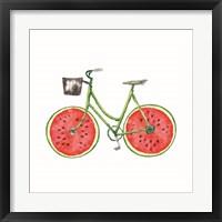 Framed Watermelon Bike