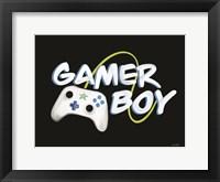 Framed Gamer Boy
