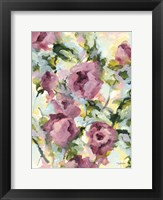 Framed Abstract Floral