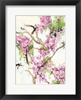 Framed Wisteria in Bloom