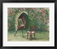 Framed Garden Painting