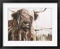 Framed Highland in the Breeze