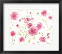 Framed Pink Poises