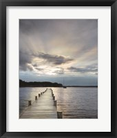 Framed Sunset on the Bay