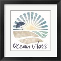 Framed Ocean Vibes