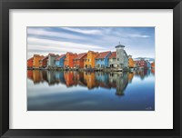 Framed Reitdiephaven Reflections