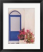 Framed Santorini Door
