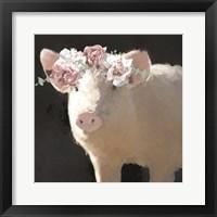 Framed Clementine the Pig