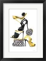 Glitz and Glam I Framed Print